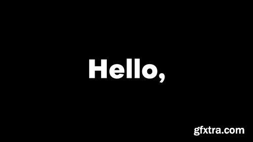 Videohive - Bold Typo Opener - 23049941