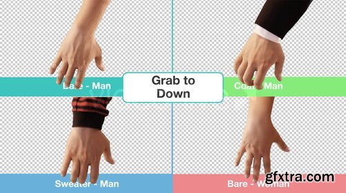 Videohive - Hand Touch Gestures (Stock Footage) - 11736571