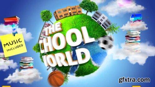 Videohive - School Education Kids Intro - 22606032