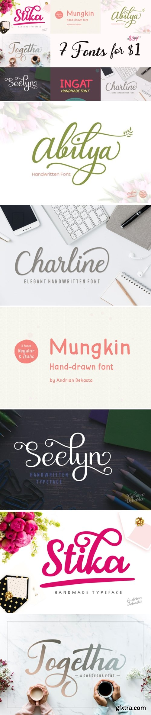 7 Beautiful and Fancy Fonts