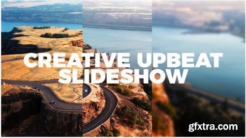 Creative Upbeat Slideshow - After Effects 314023