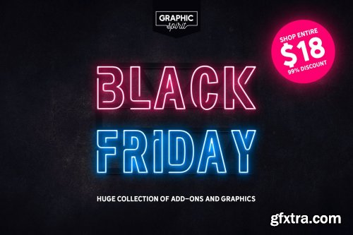 CreativeMarket - BLACK FRIDAY SALE | BUNDLE 4324145