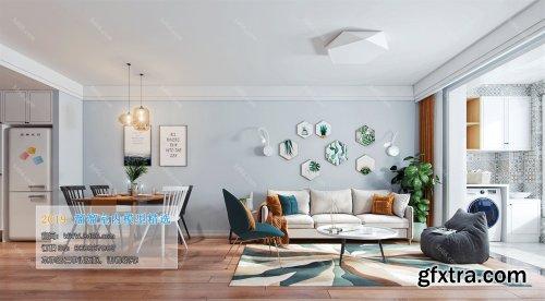 Modern Style Livingroom 376 (2019)