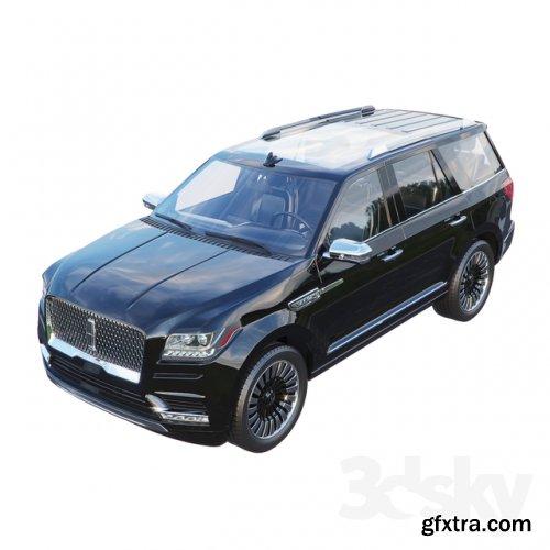 Lincoln navigator 3D model