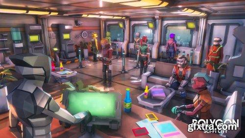 POLYGON - Sci-Fi City Unreal Engine