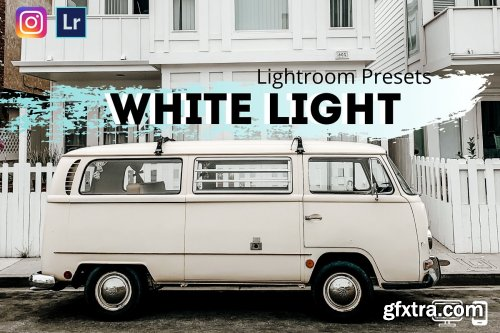 CreativeMarket - White Lightroom Presets XMP DNG 4342404