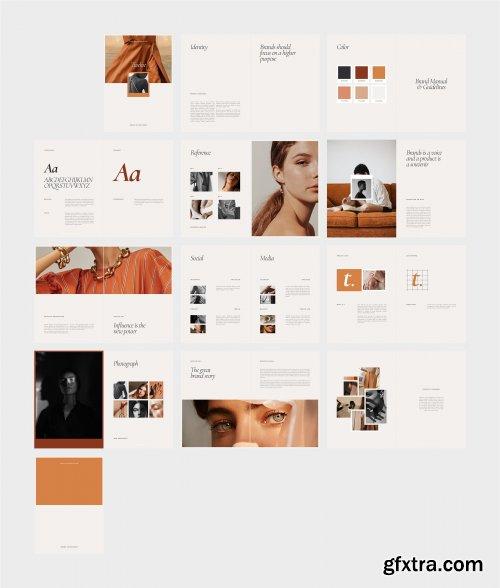 CreativeMarket - TWELVE Brand Manual & Guidelines 4338166