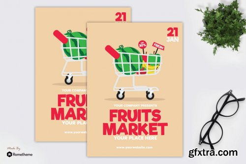 Fruits Market - Flyer GR