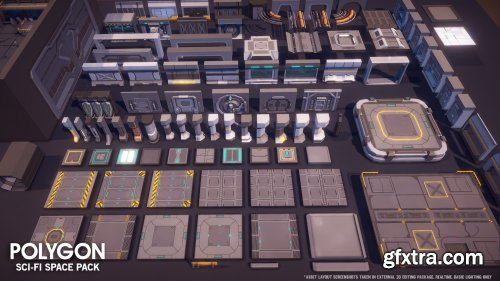 POLYGON - Sci-fi Space Pack for Unreal Engine