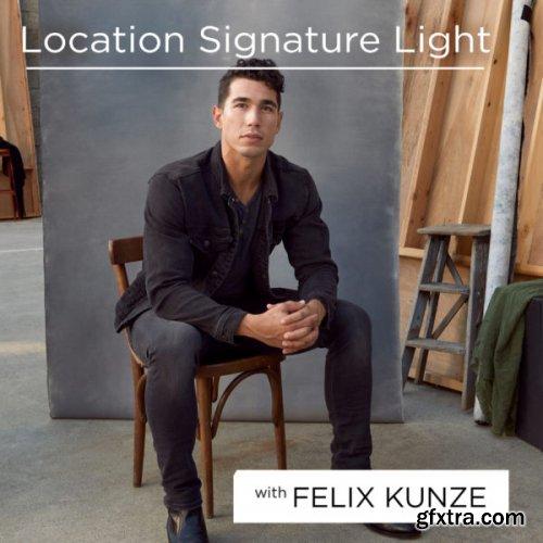 The Portrait Masters -  The Location Lighting Series by Felix Kunze - Signature Light on Location