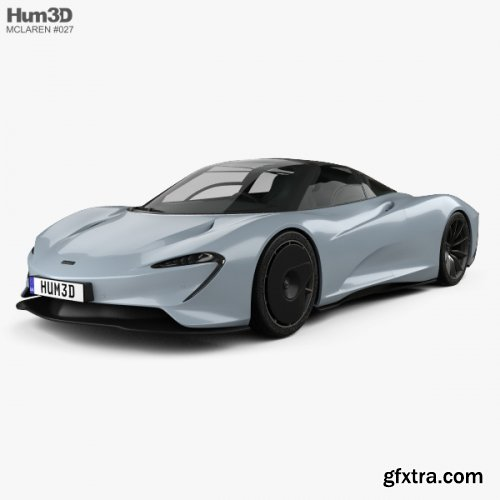 McLaren Speedtail 2019 3D model