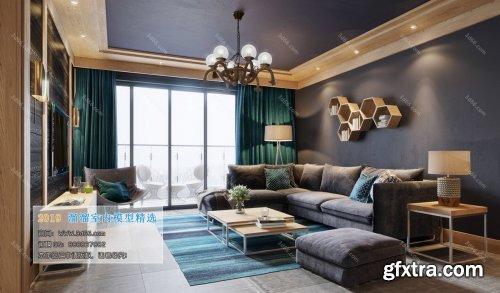 Nordic Style Livingroom 01 (2019)