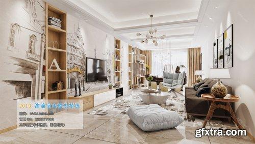 Nordic Style Livingroom 02 (2019)