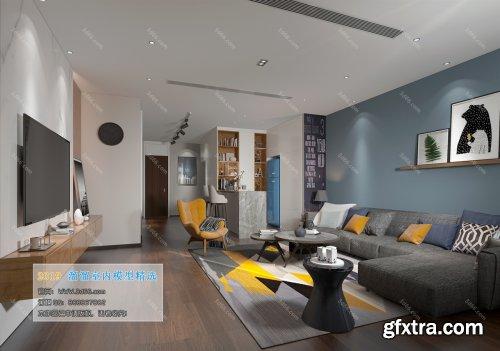 Nordic Style Livingroom 04 (2019)