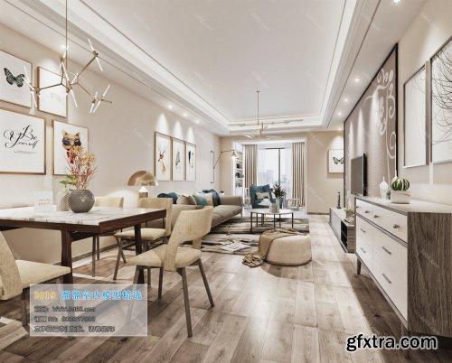 Nordic Style Livingroom 03 (2019)