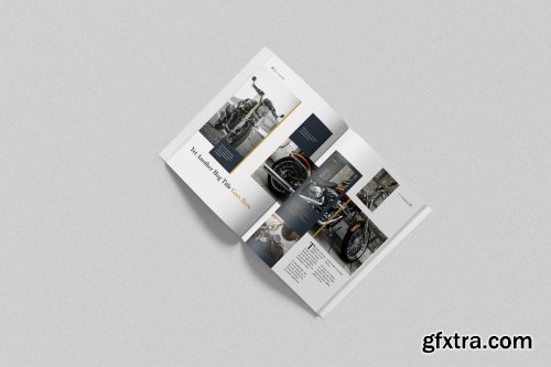 CreativeMarket - Retro Look Book Indesign Template 4359628