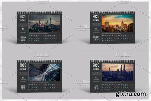 CreativeMarket - Desk Calendar 2020 V24 4363215