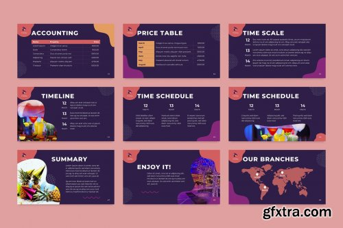 Event Management PowerPoint Presentation Template