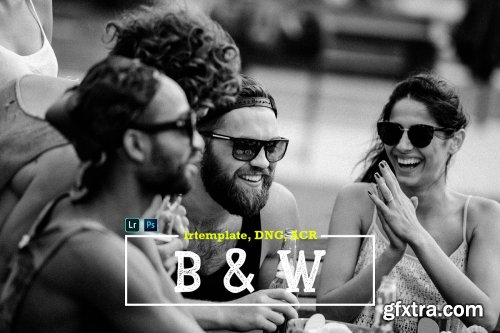 CreativeMarket - B&W LR Mobile and ACR Presets 4170132
