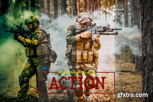 CreativeMarket - Action Lightroom, ACR and DNG Preset 4162917