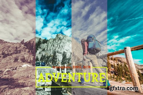 CreativeMarket - Adventure LR, ACR and DNG Presets 4163232
