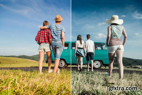 CreativeMarket - Blogger LR Mobile and ACR Presets 4170178