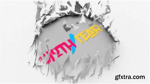 Cloth Tear Logo - After Effects 314107