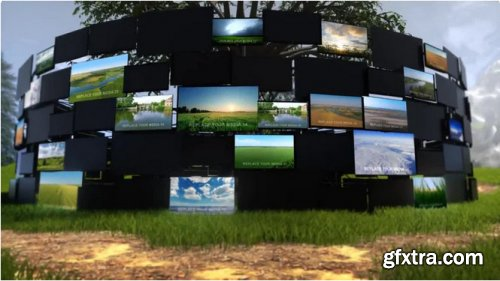 Video Screens On Nature - After Effects 313714