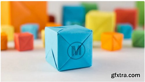 Colored Cubes Stop Motion Logo - After Effects 313494