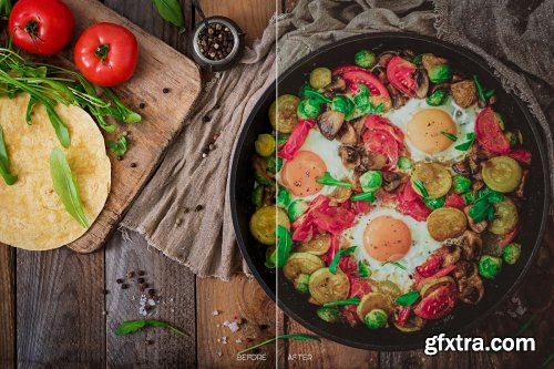 CreativeMarket - Food LR Presets for Mobile + Desktop 4170851