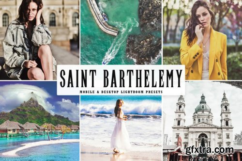 Saint Barthelemy Mobile & Desktop Lightroom Preset