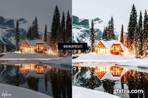 CreativeMarket - WINTER WONDERLAND LIGHTROOM PRESETS 4309502