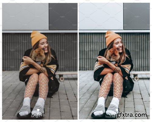 CreativeMarket - 10 LIGHTROOM PRESETS CHIC COLLECTION 4171698