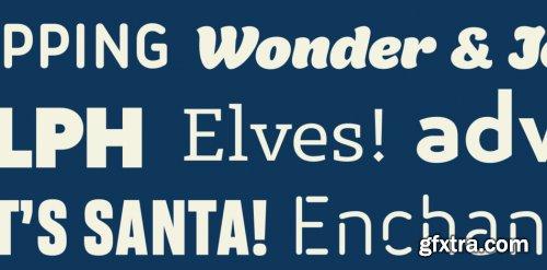 Zetafonts Holiday Hits