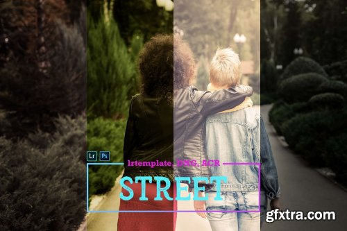 CreativeMarket - Street LR Mobile and ACR Presets 4171668