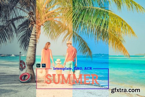 CreativeMarket - Summer Mobile LR and ACR Presets 4171681