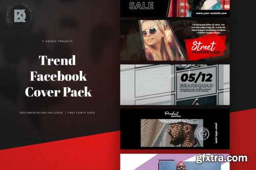 Trend Facebook Cover Pack