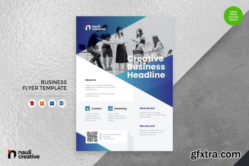 Corporate Business Flyer AI, DOC, & AI Vol.36