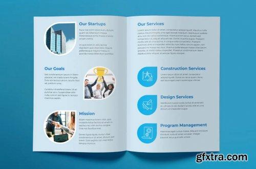 Building Company Brochure Bifold