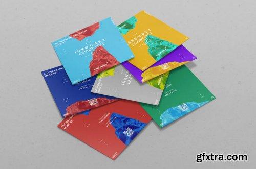 CD / DVD Сardstock Paper Sleeve Mock-Ups Vol.1