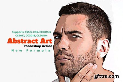 CreativeMarket - Abstract Art Photoshop Action 4341900