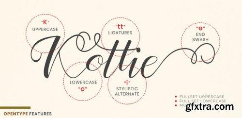 Kottie Script Regular