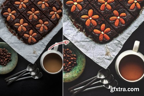 CreativeMarket - Food Action for PS 4353276