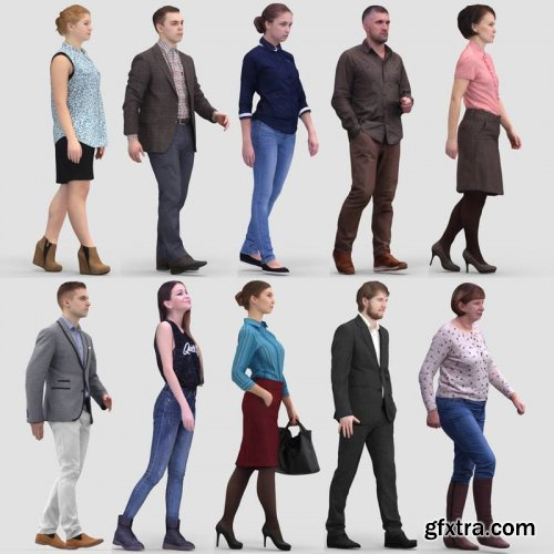 3d People Collection Vol. 1