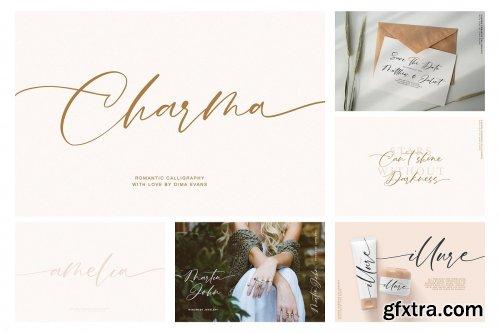 CreativeMarket - Calligraphy Handwritten Font Bundle 4347240