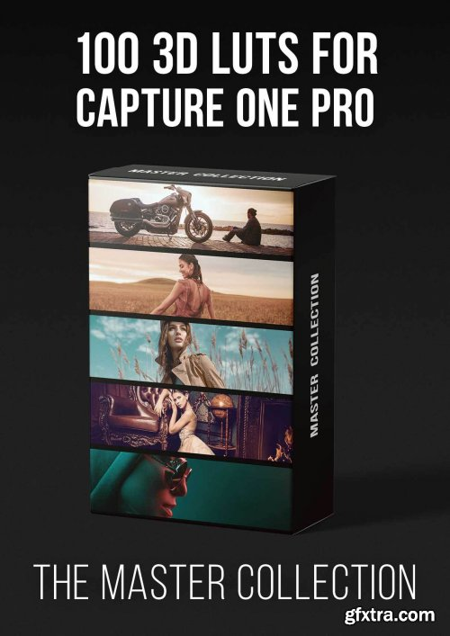 PRO EDU - Master Collection - 100 3D Lut Profiles For Capture One Pro