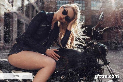 CreativeMarket - Grunge Style Photoshop Overlays 4366665