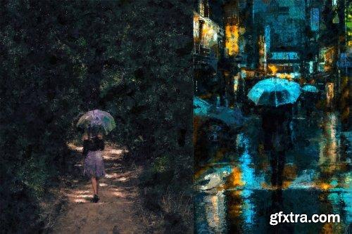 CreativeMarket - Abstract Art Photoshop Action 4403730