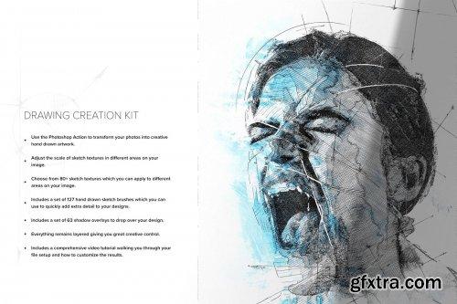 CreativeMarket - Drawing Creation Kit 4403684