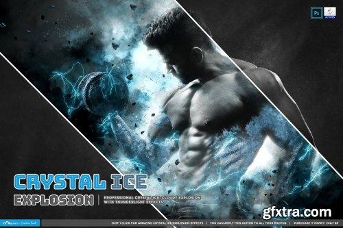 CreativeMarket - Crystal Ice Explosion 4366227